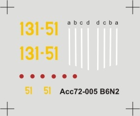 Acc-005 decal