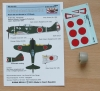 Acr-021 Individual Exhaust Stacks for Ki-44-II + Decals